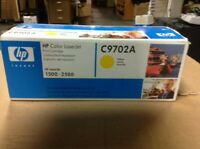 Genuine hp Color LaserJet Print Cartridge 1500-2500 C9702A-YELLOW