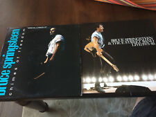 Bruce Springsteen Chimes of Freedom 12'' Live Promo EP + Live Flat rare