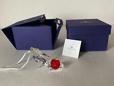 Swarovski Disney Belle Inspired Shoe Ornament 5384696 MIB