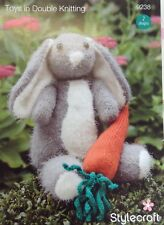 Stylecraft Toys in DK- Rabbit and Carrot 9238