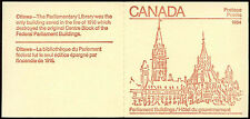 Canada 1984 SG#SB94 Parliament Buildings MNH Stamp Booklet #C24739