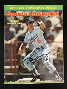 Steve Garvey Signed Sports Illustrated Mag 4/7/95 Dodgers No Label Autograph JSA