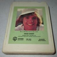 Shaun Cassidy 8 Track Tape Not Tested M8 3067 S 121335 Warner Brothers 1977