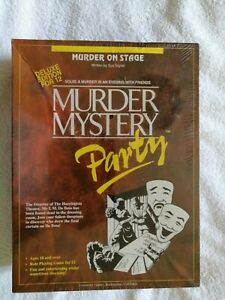 Brand new Murder Mystery Party: Murder on Stage