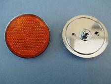 SUZUKI GS1000 GS1000S GS850 GS1000G TAIL PIECE AMBER SIDE REFLECTOR REFLECTORS