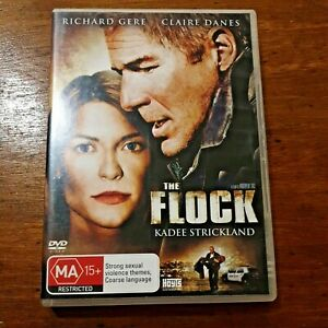 The Flock DVD Richard Gere R4 VERY GOOD EX-Rental  – FREE POST