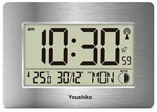 Radio Controlled Large Screen LCD Wall or Desk Clock ( UK & Ireland Version )