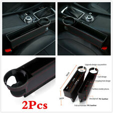 Multi-use High Capacity Car Seat Gap Cup Holder Storage Box Interior Accesories