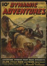Dynamic Adventures 1935 October. #1, Scarce. Saunders Mountie cover.  Pulp