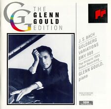 THE GLENN GOULD EDITION - BACH: GOLDBERG VARIATIONS, BWV 988 - 1955 VERSION / CD