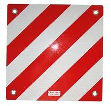 Warntafel für Italien Aluminium reflektierend 500x500mm rot-weiß, 097606