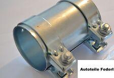 Rohrverbinder/Doppelschelle  Durchmesser 76mm, Länge 125mm  für viele Modelle
