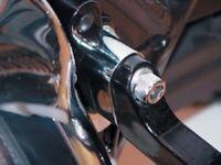 Chrome Passenger Floorboard Extension for Harley FLT Touring FLHT Electra Glide