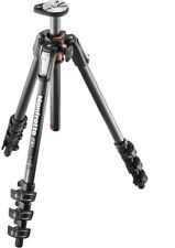 Manfrotto 190 Carbon Fibre 4 Section Tripod With Horizontal Column