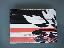 Burberry Wallet - BNWT Patchwork Floral Sandon Leather Card Holder Case RRP:210