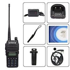 Uv 82 Handheld Radio Scanner Ham Two-way Walkie Talkie Transceiver Police Ems