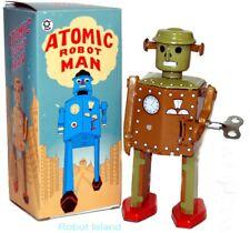 Atomic Robot Man Tin Toy Windup 1940's Design