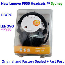 LENOVO P950 Noise Cancellin PC Headphone Headset Microphone 4 Gaming Music Skype