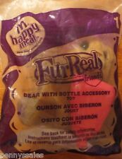 McDonald's FurReal Bear With Bottle Accessory #1 2008 NIP