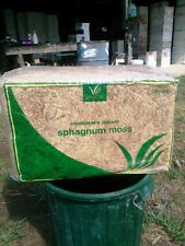 New Zealand Sphagnum Moss - Excellent for mounting elkhorns - Full bale!