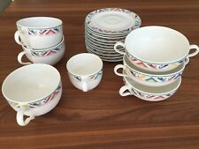 Villeroy et Boch Indian Look lot de tasses/soucoupes/bols