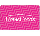 HomeGoods Gift Card - $25 $50 or $100 - Email delivery <br/> US Only. May take 4 hours for verification to deliver.