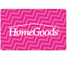 HomeGoods Gift Card - $25 $50 or $100 - Email delivery