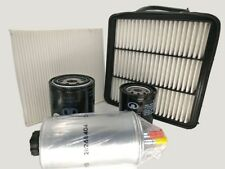 Oil Air Fuel Cabin Filter Full Service Kit Great Wall V200 2.0L Diesel 2011-on