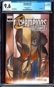 CHAMPIONS 1 CGC 9.6 1:50 PEACH MOMOKO RARE INCENTIVE VARIANT MILES MINT