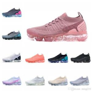 Moc 2 Air Cushion Shoes FK Elastic Band No Lace Knitted Running Shoes