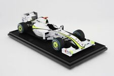 Amalgam Brawn BGP 001 J.BUTTON Grand Prix 2009 1/8 Scale Diecast Model LE 99
