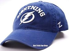 ZEPHYR NHL TEAM LOGO SLOUCH HOCKEY HAT/CAP - TAMPA BAY LIGHTNING
