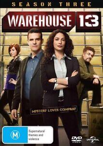 Warehouse 13 : Season 3 (DVD, 2011, 4-Disc Set) R4
