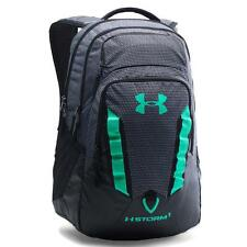 Under Armour Storm Recruit Backpack, Black/Teal/Sea Green (004), One Size