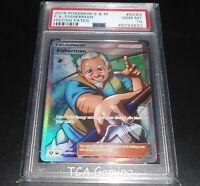 PSA 10 GEM MINT Fisherman SV83/SV94 SM Hidden Fates SHINY HOLO Pokemon Card