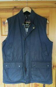 Barbour Westmorland Waistcoat or Gilet Navy, Medium, Fair/Good Cond