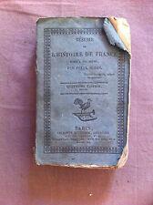 BODIN Félix - Résumé de l'histoire de France. - 1822 -