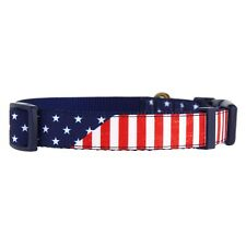 Petsmart Top Paw Americana Flag Dog Collar NEW animal Medium USA 4th of July