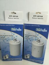 Eco Aqua Refrigerator Replacement Water Filter EFF-6014A LOT Of 2