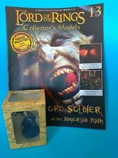 EAGLEMOSS LOTR Collectors Model #13 Orc Soldier + Magazine Offers Welcome