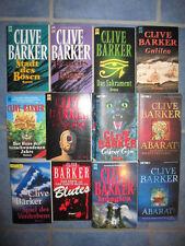 Clive Barker Horror Bücherpaket -Konvolut -  Bücherkiste 12 Bücher