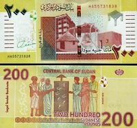 SUDAN  200 SUDANESE POUNDS 2019 / 2020 NEW-UNCIRCULATED