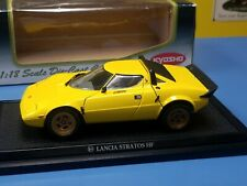 """KYOSHO LANCIA STRATOS HF YELLOW  #08131Y  """"PRE-OWNED"""""""