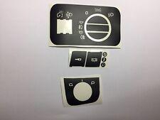 Interruptor Luz,Botón Cierre,Regulador Espejos,AUDI A3 8L,AUDI S3 8L,pegatinas