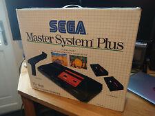 Sega Master System Plus Box and accessories