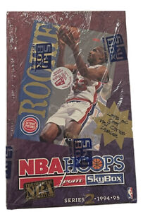 1994-95 Skybox Hoops Series 2 Hobby Basketball Box 36 Factory Sealed Packs