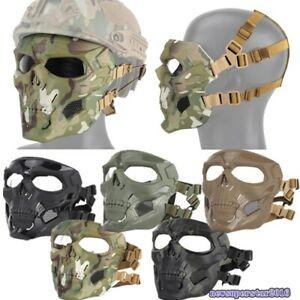 Tactical Skull Devil Ghost Camo Full face Mask Cover Guard Nylon Glass Fiber