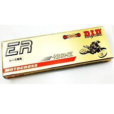 D.I.D. HD 428NZ X 60 ER Gold and Black Shifter Kart Chain, CR125 TM IAME CKR CRG
