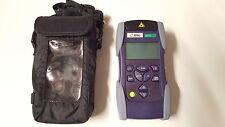 ✔【FIBER】JDSU OLP-57 SMART Optical Power Meter VFL BN.2289/23 SmartClass Tested ✔
