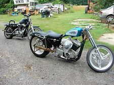 TWO Harley Davidson Sportster Drag / Racing Bike  (w/ extra Drag / Racing Parts)